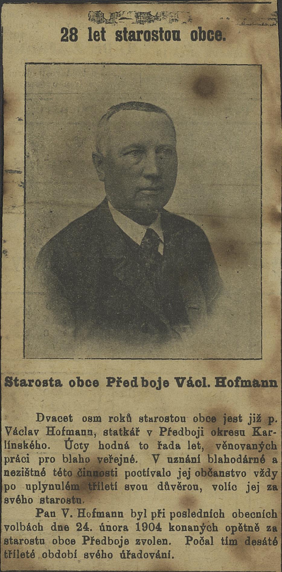 hofmann starosta